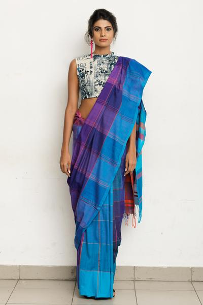 Urban Drape Skyway Saree