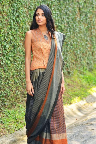 Urban Drape Tree Dreaming Saree