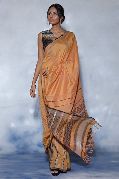 Urban Drape Lux Star Blaze Saree