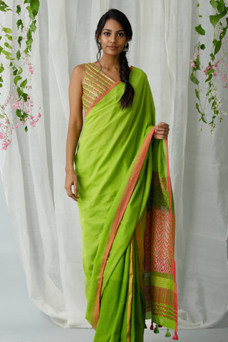 Urban Drape Lux Gray Haze Saree