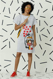 Wildest Printed Polka Dot Dream Dress V3
