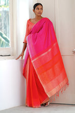 Load image into Gallery viewer, Urban Drape Canyon Curves saree