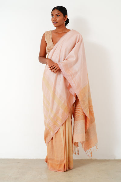 Urban Drape Frozen Winter Saree