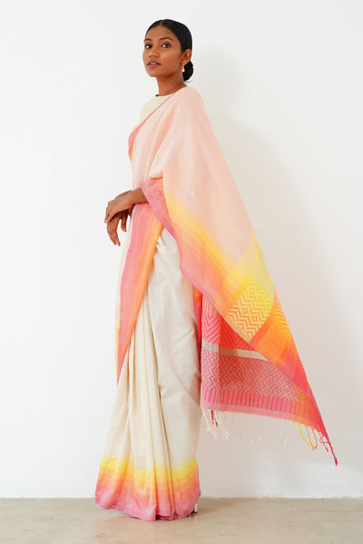 Urban Drape Ocean Breeze Saree-Shipping From 09th April