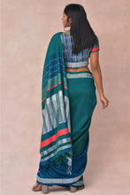 Load image into Gallery viewer, Urban Drape Malai Ha Green Saree