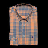 Chris Shirt in ORANGE & BLUE