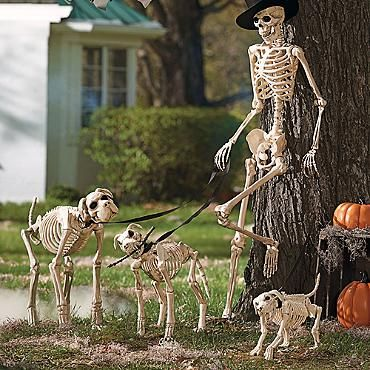 Halloween Yard Decor Dogs