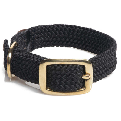 Mendota Double Braid Collar - Brass