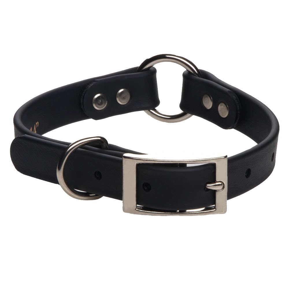 DuraSoft Imitation Leather Collar - Center Ring