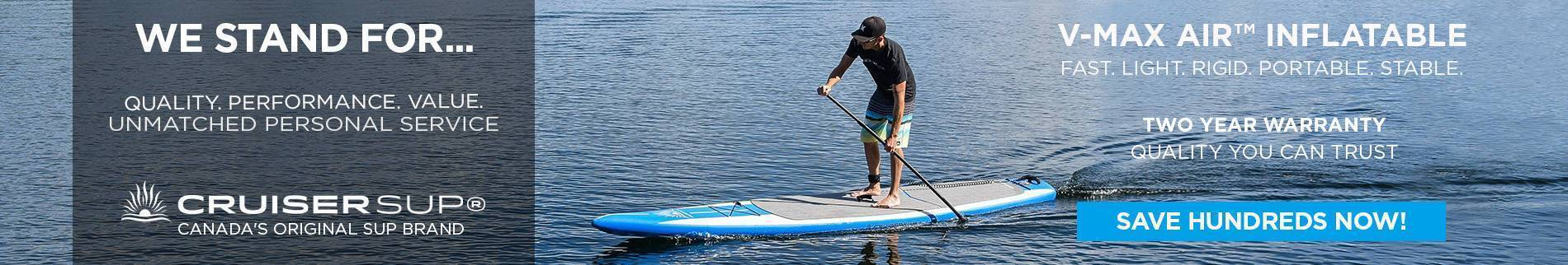 Touring Stand Up Paddle Boards | Cruiser SUP® Canada