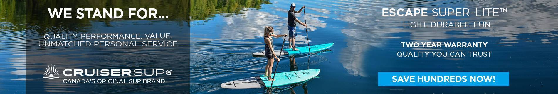 Best Stand Up Paddle Board Deals | Cruiser SUP® Canada
