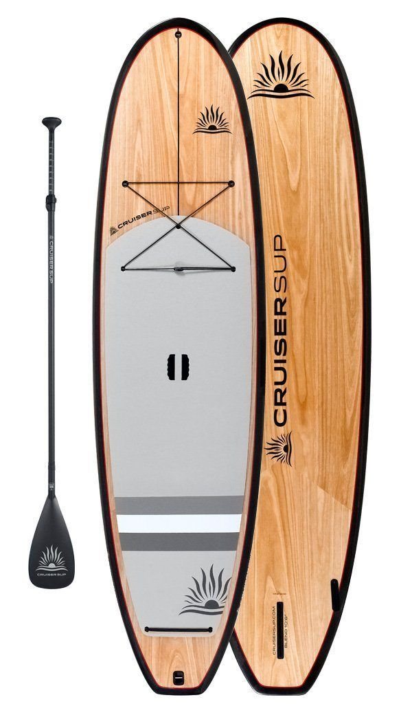 "Two CruiserSUP® Blend Ultra-Lite Wood Carbon 10'-11'6"" Package - cruiser-sup.ca"