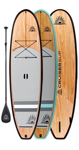 "CruiserSUP® Blend Ultra-Lite Wood Carbon 10'-11'6"" - cruiser-sup.ca"