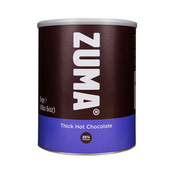 Zuma Thick Premium Hot Chocolate 25% Cocoa 2kg Tin