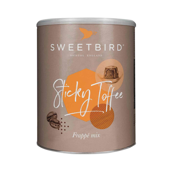 Sweetbird Sticky Toffee Frappe 2kg Tin