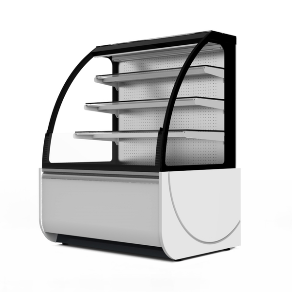 Prodis Calabria - Curved Glass Patisserie Counter Self Service - Modular