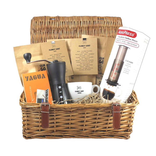 Clumsy Goat Aeropress Deluxe Coffee Bean Gift Hamper