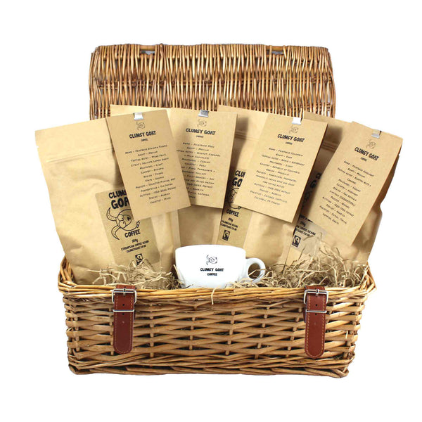 Clumsy Goat Fairtrade Coffee Bean Gift Selection