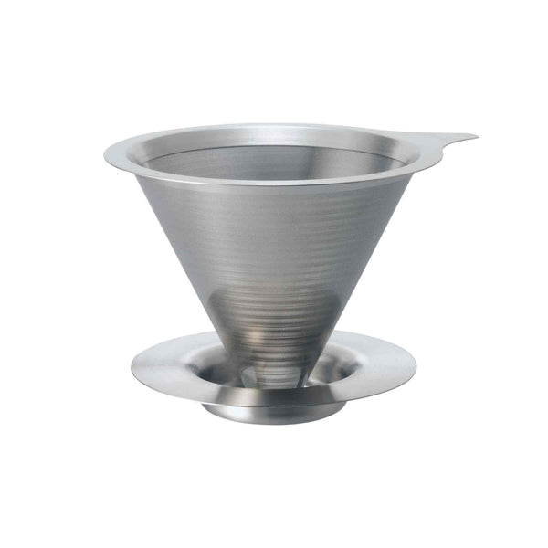 Hario V60 01 Double Mesh Metal Dripper - 1-2 Cup