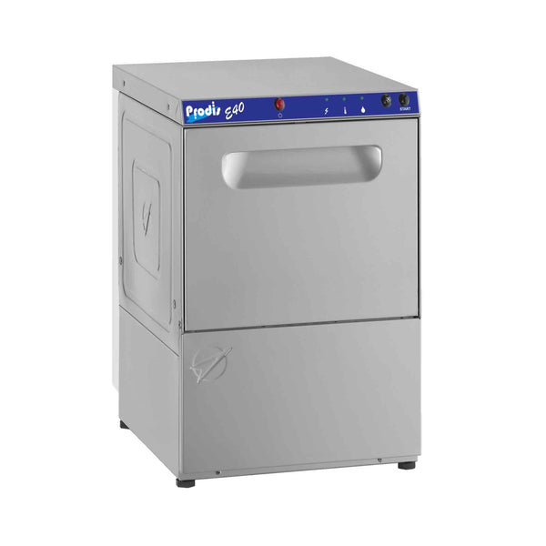 Prodis E40, 400mm Heavy Duty Commercial Glasswasher, Gravity Drain