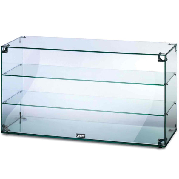 Lincat Seal Glass Display Case - Open Back - 490h x 907w x 350d  - GC39