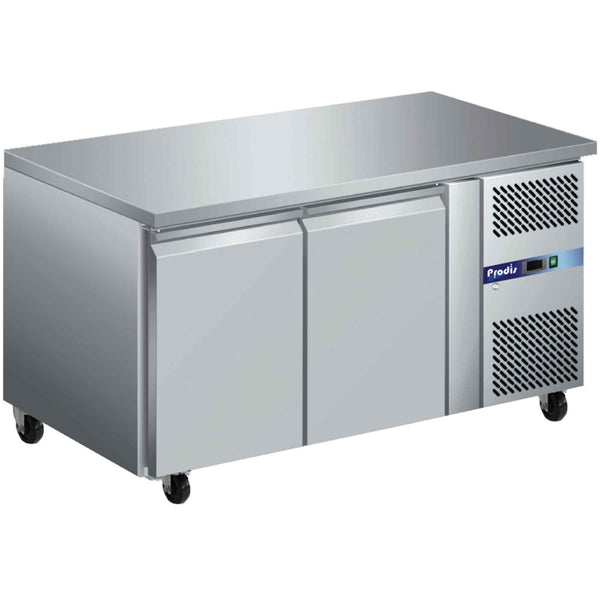 Prodis GRN-C2F Professional Two Door Stainless Steel Counter Freezer