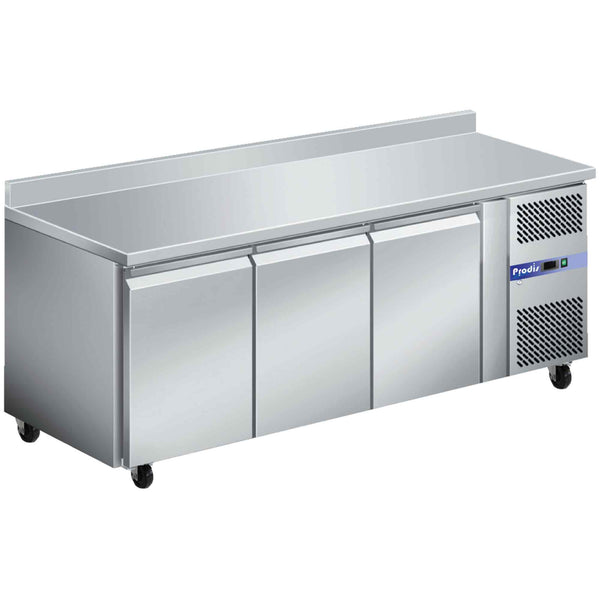 Prodis GRN-W3R Professional Three Door Stainless Steel Counter Fridge