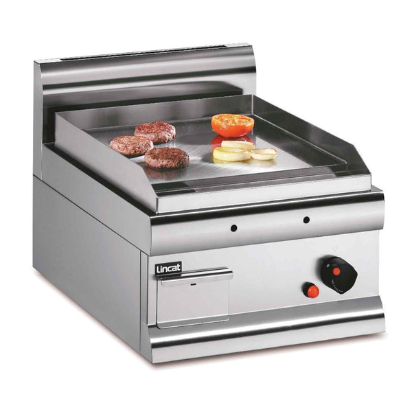 Lincat Silverlink 600 Steel Griddle 5.4kw - Natural Gas - 450w x 650d x 415h - GS4/N