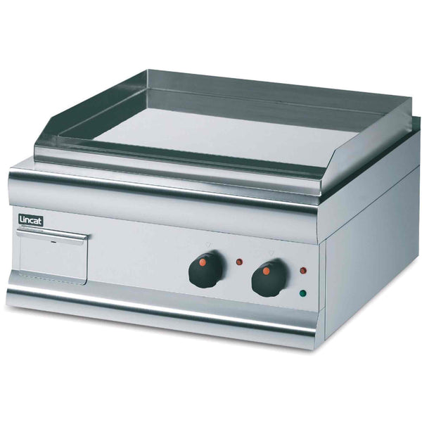 Lincat Silverlink 600 Chrome Plate Griddle Twin Zone 4kw - Electric - 600w x 620d x 330h - GS6C/T