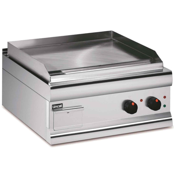 Lincat Silverlink 600 Steel Plate Griddle Twin Zone 4kw - Electric - 600w x 620d x 330h - GS6/T