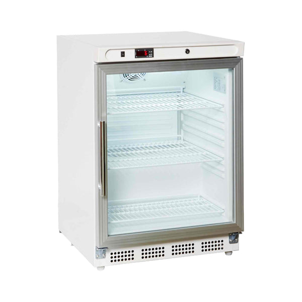 Prodis HC200G Half Height Under Counter Glass Door Display Fridge