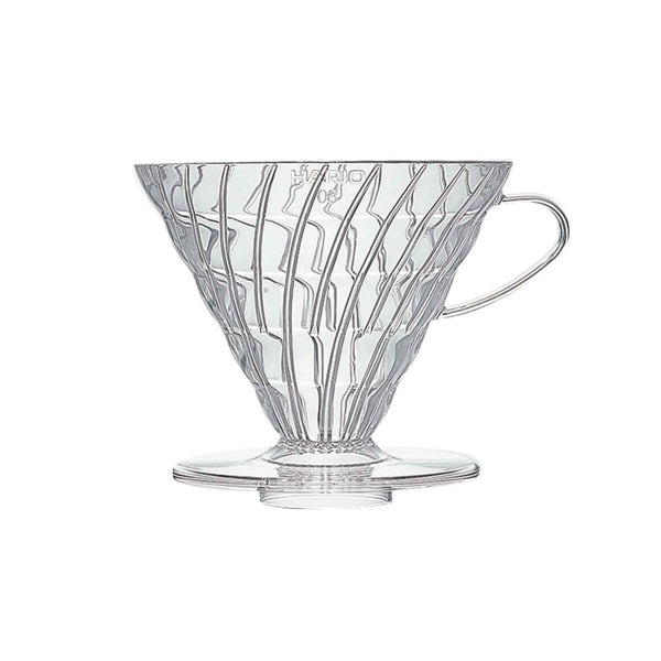 Hario V60 Coffee Dripper 03 - Clear Plastic - 6 Cup