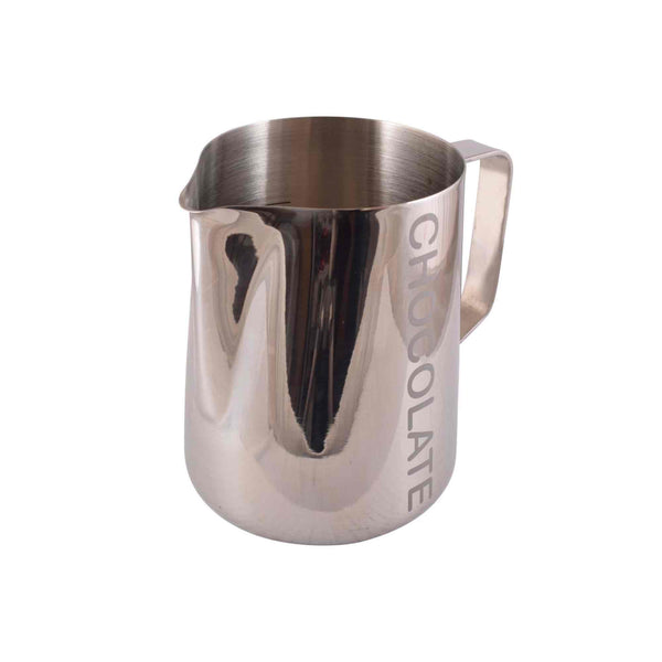 Chocolate Labeled Milk Foaming Jug - Stainless Steel - 1 Litre