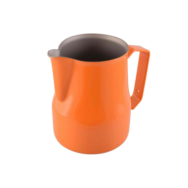 Motta Teflon Coated Milk Foaming Jug - Orange - 500ml