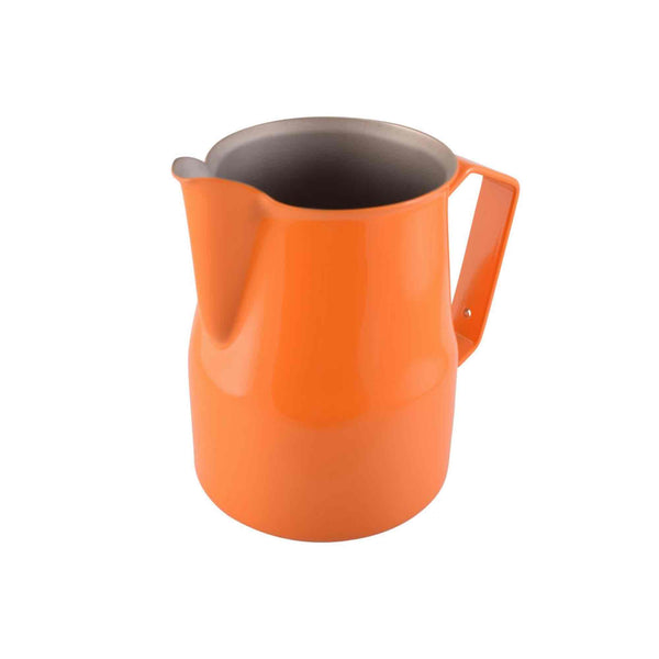 Motta Teflon Coated Milk Foaming Jug - Orange - 750ml
