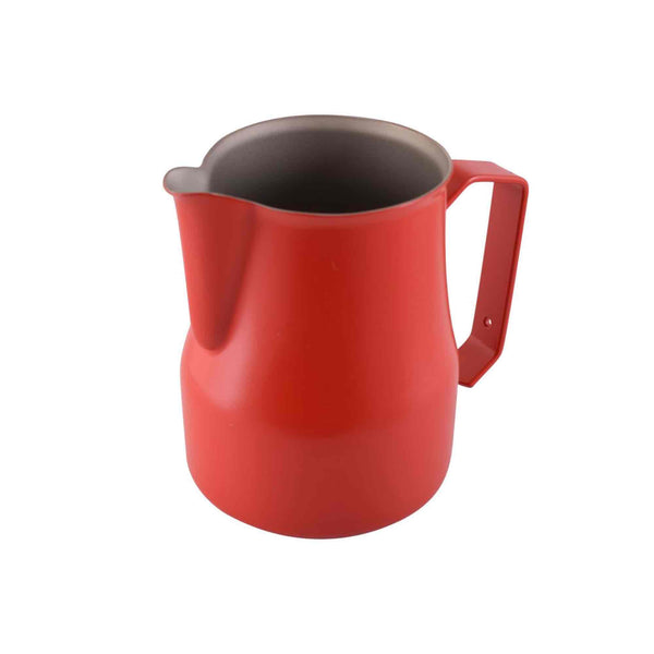 Motta Teflon Coated Milk Foaming Jug - Red - 500ml