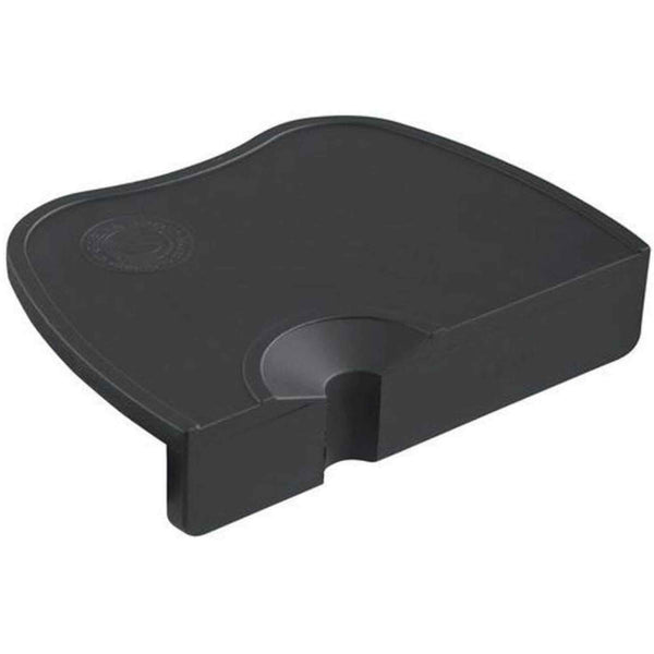 Crema Pro Commercial Tamping Mat With Overhang - Black