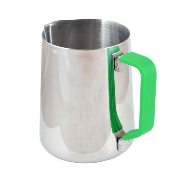 Green Handle Silicone Sleeve - For 1 Litre Milk Foaming Jug