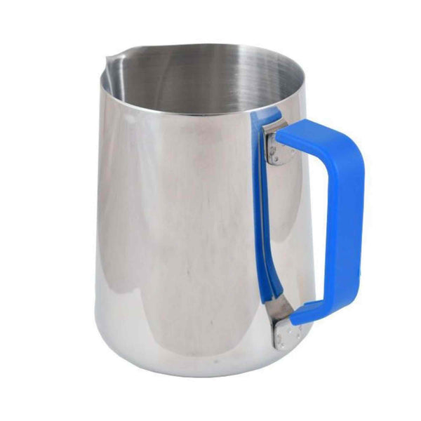 Blue Handle Silicone Sleeve - For 1 Litre Milk Foaming Jug