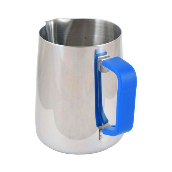 Blue Handle Silicone Sleeve - For 0.6 Litre Milk Foaming Jug
