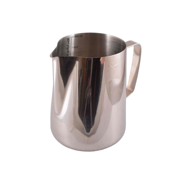 Espresso Gear Lined Milk Foaming Jug - Stainless Steel - 900ml