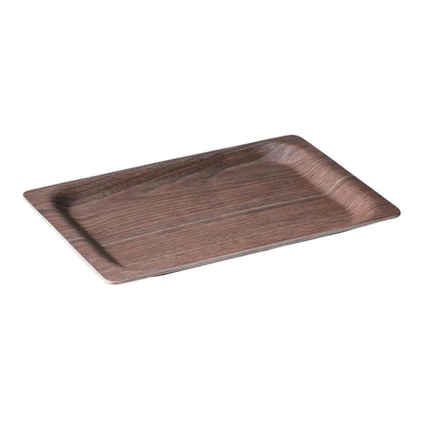 Kinto SCS Wooden Serving Tray 315 x 195mm - Walnut