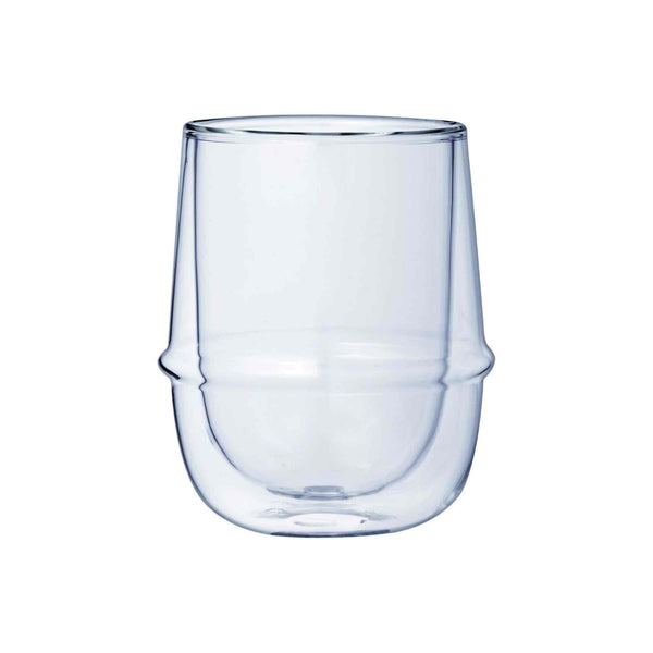 Kinto Kronos Double Wall Coffee Glass - 250ml - 9oz