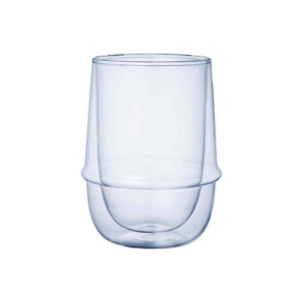 Kinto Kronos Double Wall Iced Tea Glass - 350ml - 12oz