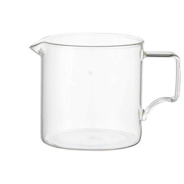 Kinto Oct Glass Coffee Serving Jug - 300ml - 2 Cup