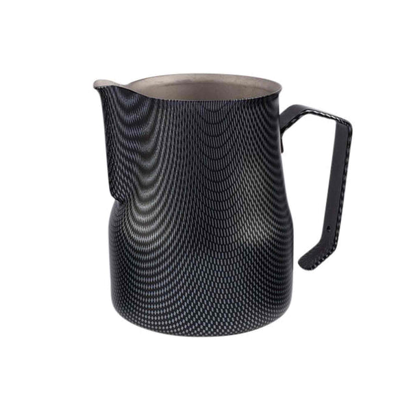 Motta Carbon Look Milk Foaming Jug - Stainless Steel - 500ml