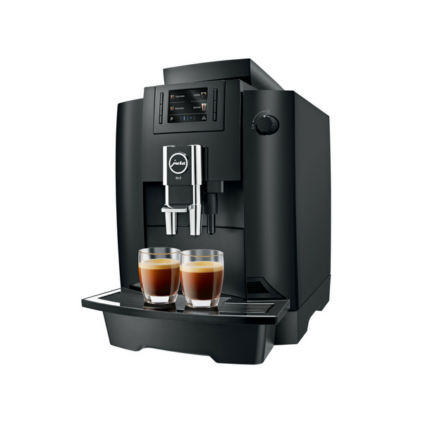 Jura WE6 Bean to Cup Coffee Machine - Up to 40 Cups Per Day