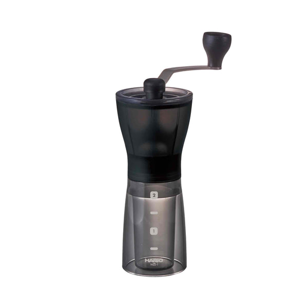 Hario Mini Mill Slim Plus Coffee Grinder - Transparent Black