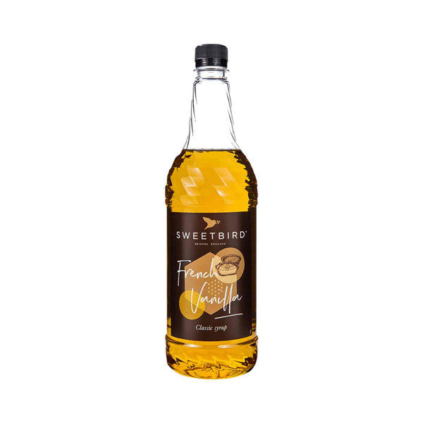 Sweetbird French Vanilla Coffee Syrup - 1 Litre Bottle