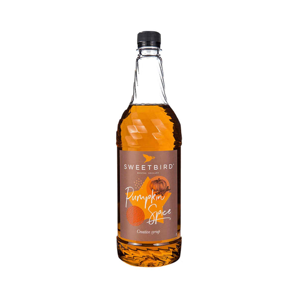 Sweetbird Pumpkin Spice Coffee Syrup - 1 Litre Bottle